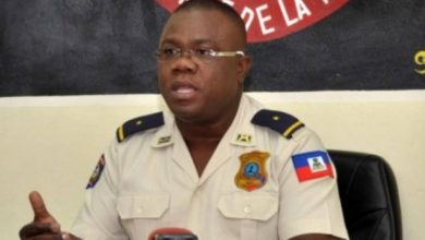 Le porte parole adjoint de la Police nationale dHaïti PNH Gary Desrosiers