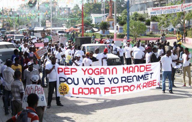 PetroCaribeChallenge Léogâne marche à son tour