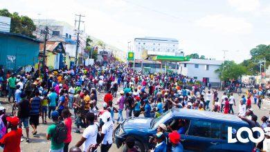 Manifestation du 17 octobre 2018 à Port au Prince contre la corruption et limpunité Photo Luckenson Jean Loop Haiti
