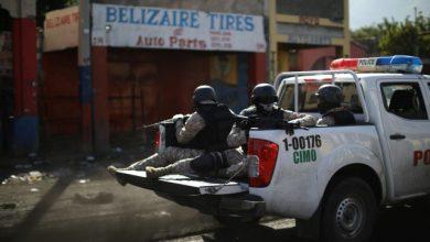 Une patrouille à Port au Prince. PHOTO ANDRES MARTINEZ CASARES ARCHIVES REUTERS