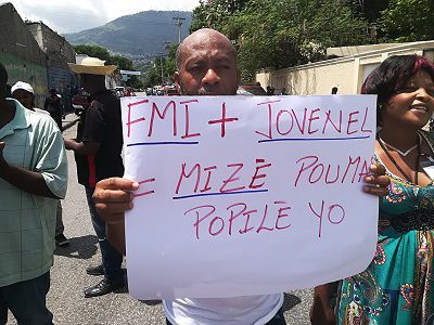FMI protest