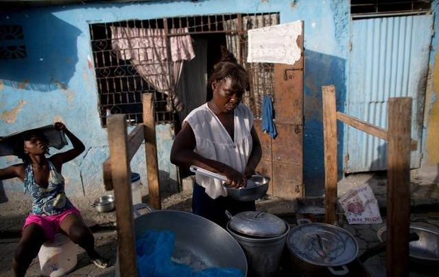 As Haiti's domestic currency quickly weakens against the U.S. dollar Haitians are feeling the squeeze.