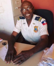 L'inspecteur principal Gabriel Faveur Désir