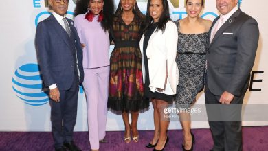 Rev. Al Sharpton MoAna Luu Susan L. Taylor Michelle Ebanks and Marc Morial Credit Rob Kim Getty Images for Essence 1