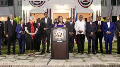 Michele Sison and haitian politicians credit the haitian sentinel