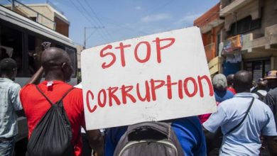 Hundreds of Haitians take part in an anti corruption protest in Port au Prince Haiti Aug. 29 2018. EPA EFE Jean Marc Herve Abelard