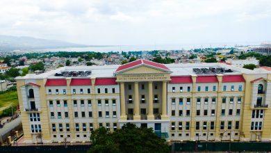 Le nouveau bâtiment devant loger la Cour supérieure des comptes et du contentieux administratif CSCCA Crédit Photo UCLBP