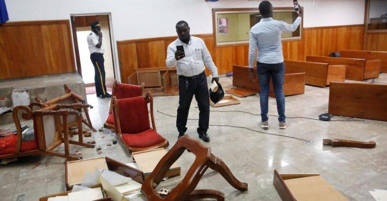 Parlement haitien