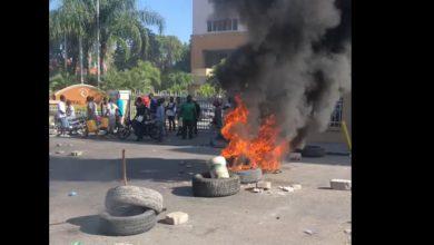 Situation de tension à Pétion ville et sur la route nationale 1