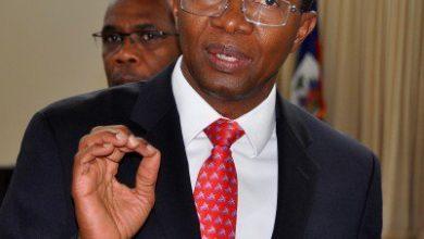 Le gouverneur de la Banque de la République d'Haïti Jean Baden Dubois