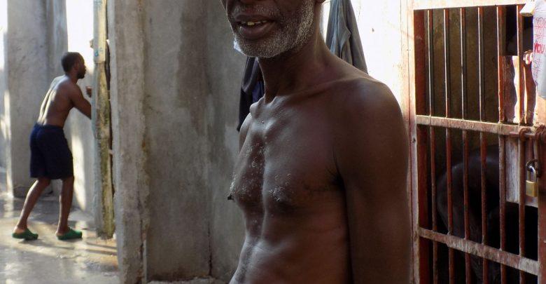 prisoner david samson outside his cell credit Prison Insider