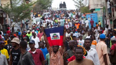 haiti election demonstrators ap img credit The Nation