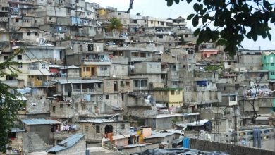 Welcome to the poorest country in the Western Hemisphere where we see a general view of a hillside slum in Port au Prince Haiti on July 12 2012. Thony Belizaire AFP