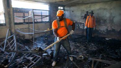 orphanage fire credit Al Jazeera