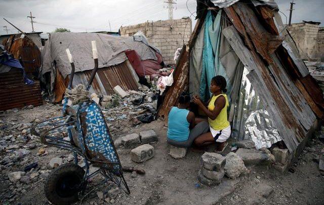 Haiti slums credit Reuters
