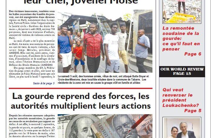 Journal HaitiProgrès – Bulletin Vol-3816