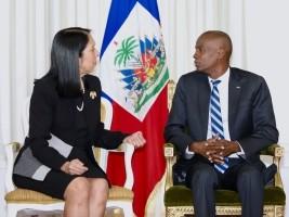 Election Haiti : Jovenel & USA