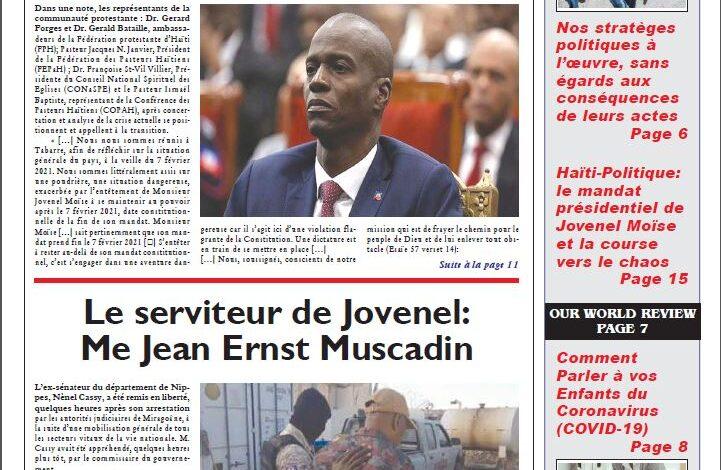Journal HaitiProgrès – Bulletin Vol-38#36