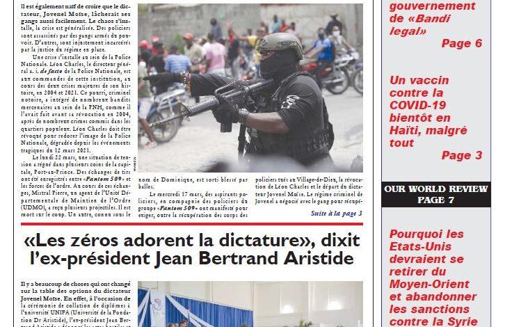 Journal HaitiProgrès – Bulletin Vol-38#44